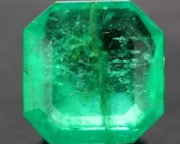 CERTIFIED EMERALD FACETED2.45  CTS  PG-SKU: BRH