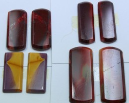 71.00 CTS -  4 SETS OF MOOKAITE JASPER  PAIR PARCEL DEAL