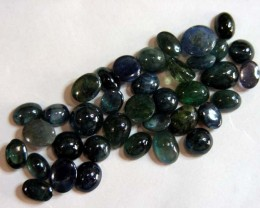 50  CTS JEWELERS N DESIGNERS PARCEL CAB SAPPHIRES 11436