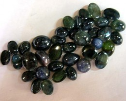 50  CTS JEWELERS N DESIGNERS PARCEL CAB SAPPHIRES 11438