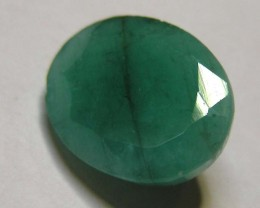 5.89 CTS OVAL FACTED EMERALD  11350