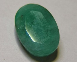 5.52 CTS OVAL FACTED EMERALD  11366