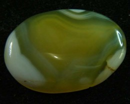 25.96 CTS HAND PICKED  BANDED AGATE   11 325