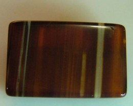 29 CTS HAND PICKED RECT  BANDED AGATE   11 536