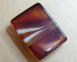 27 CTS HAND PICKED RECT  BANDED AGATE   11 539