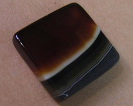 23 CTS HAND PICKED RECT  BANDED AGATE   11 542