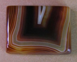 23 CTS HAND PICKED RECT  BANDED AGATE   11 546