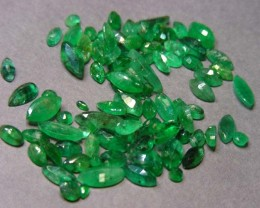 22.5 CTS PARCEL  FACETED EMERALDS  11 461