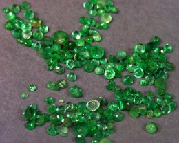 10 CTS PARCEL  FACETED EMERALDS  11 474