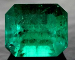 CERTIFIED EMERALD FACETED 3.91 CTS  PG-SKU-ocg