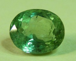 2.76 CTS  FACETED TOURMALINE GEMSTONE  11 638