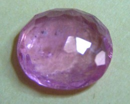 2.56 CTS  FACETED ROSY PINK TOURMALINE GEMSTONE  11 665