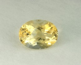 2.45ct WONDERFUL BRAZILIAN CITRINE GEM FINE OVAL FACET CUT