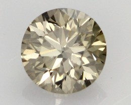 0.39 CTS FINE CHOCOLATE DIAMOND VS2  BR 0012