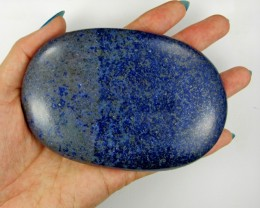 1255 CTS MASSIVE  LAPIS LAZULI -4.5 INCHES LONG   11 080
