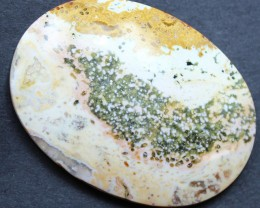 104.10 CTS OCEAN JASPER CABOCHON FROM OLD COLLECTION