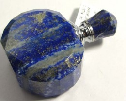 480 CTS LARGE LAPIS  PERFUME BOTTLE GG 48