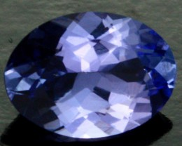0.69 CTS CERTIFIED VVS TANZANITE STONE - WELL CUT [ZST219]