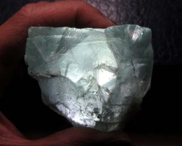 555 CTS NATURAL  FLUORITE ROUGH  MS 1436