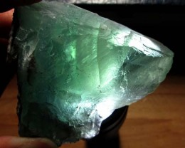 775 CTS NATURAL  FLUORITE ROUGH  MS 1448