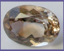 """FIERY TOP QUALITY AAA 7.40CT TOP QUALITY OVAL TOPAZ!!!"""