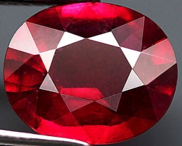 4.98 Carat Fiery Ruby - Superb Appearance