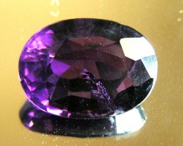 11 CTS AMETHYST  GEMSTONE FACETED   11491