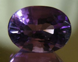 7.64 CTS AMETHYST  GEMSTONE FACETED   11495