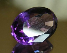 3.97 CTS AMETHYST  GEMSTONE FACETED   11499