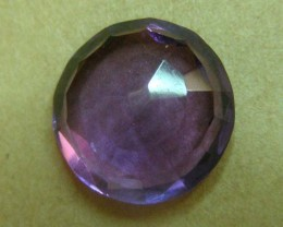 5 CTS AMETHYST  GEMSTONE FACETED   11504