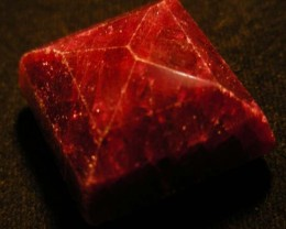 143  CTS FACETED RED RUBY  11763
