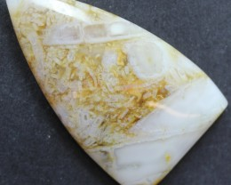 32.90 CTS SAGENITE AGATE CABOCHON STONE FROM OLD COLLECTION