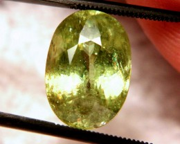 9.10 Ct. SI Sphene - Rainbow Colors, Beautiful, Collectable