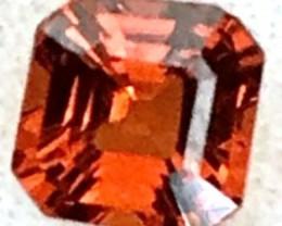 .7ct CERTIFIED Orange Red-Brown Spessartite Garnet (A585)