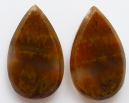 8.35 CTS MT MAURY AGATE PAIR OF STONES