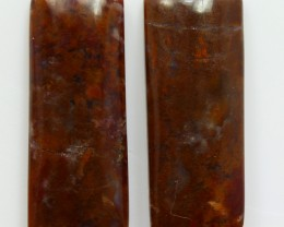 24.50 CTS MT MAURY AGATE PAIR OF STONES
