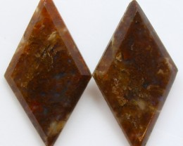 11.35  CTS MT MAURY AGATE PAIR OF STONES
