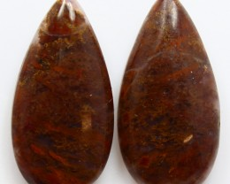 16.60 CTS MT MAURY AGATE PAIR OF STONES