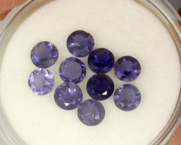 2.10 CTS PURPLE BLUE IOLITE - THE WATER SAPPHIRE  [SB654]