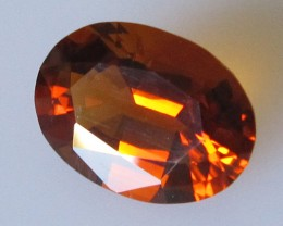 3.47cts Maderia Colour Citrine, Oval Shape