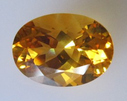5.58cts Golden Yellow Citrine Oval Shape
