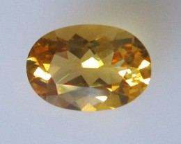 Golden Yellow Citrine Oval Shape, 1.65cts