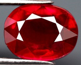3.12 Carat VS Fiery Cherry Ruby - Gorgeous Gem