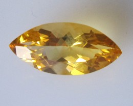 2.50cts Golden Yellow Citrine Marquise Shape