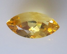 Golden Yellow Citrine Marquise Shape, 1.92cts