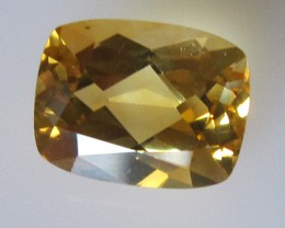 Golden Yellow Citrine Cushion Shape, 1.90cts