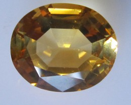 Golden Yellow Citrine Oval Shape, 4.30cts