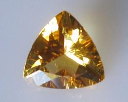 2.30cts Golden Yellow Citrine Trillion Shape
