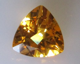 Golden Yellow Citrine Trillion Shape, 2.87cts