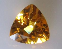 2.87cts Golden Yellow Citrine Trillion Shape